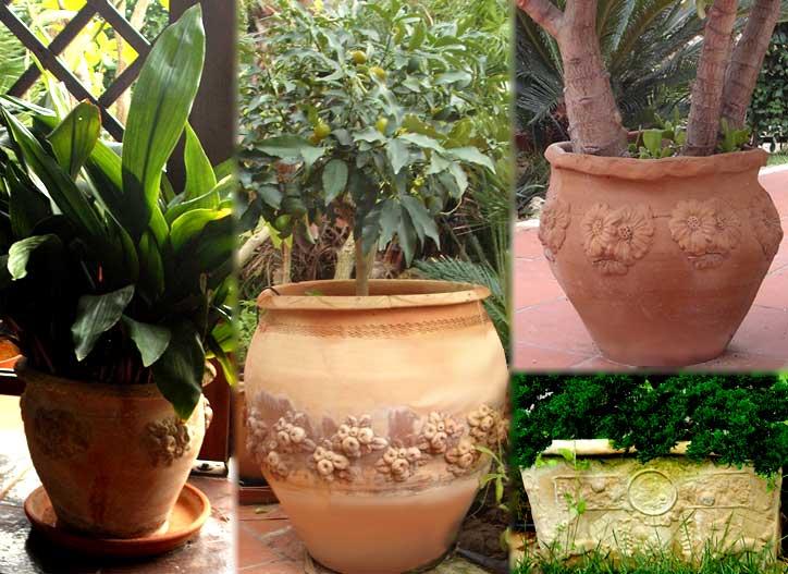 Complementi di arredo artigianale in ceramica ostuni puglia for Complementi da giardino